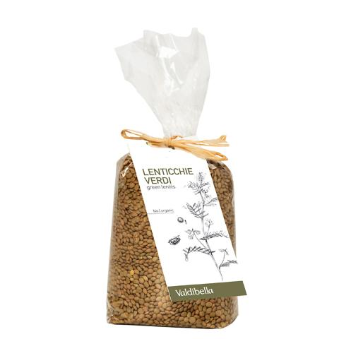 Lenticchie verdi/ 500 gr./  Valdibella