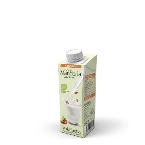 Latte di mandorla al naturale (250ml)/  Valdibella