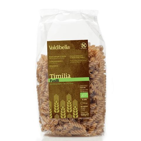 Fusilli di Timilìa/ Conf. da 500 gr/ Valdibella
