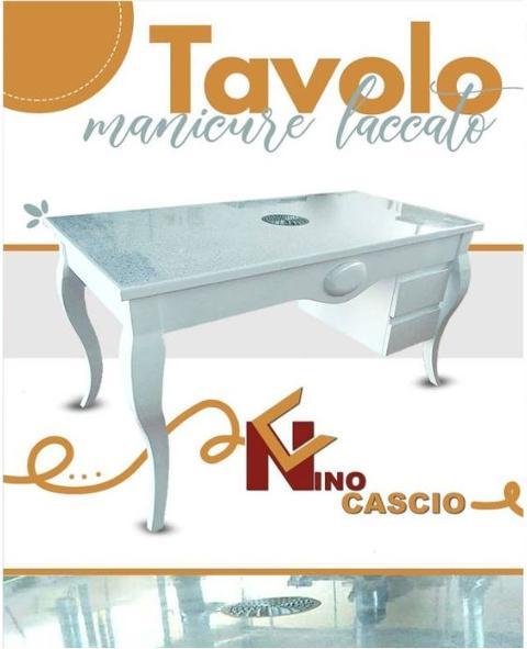 Tavolo Manicure/ In Faggio/ Cascio Nino