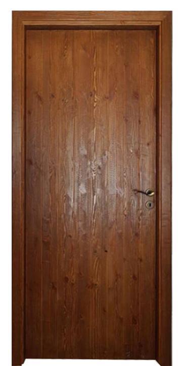 Porta rustica/ in pino di svezia spazzolata/ Cascio Nino
