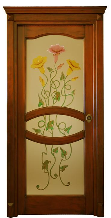 Porta in massello/ Art. 130 A VC/ Infissi Vaccaro