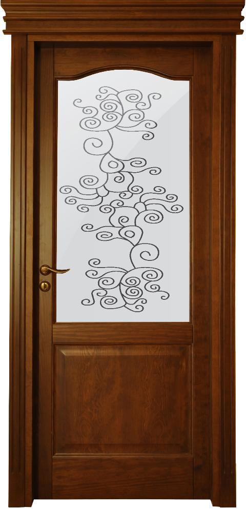 Porta in massello/ Art. 106/ Infissi Vaccaro