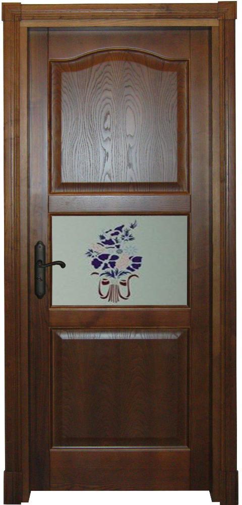 Porta in massello/ Art. 107/ Infissi Vaccaro