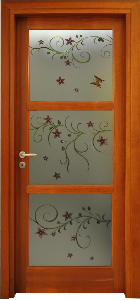 Porta in massello/ Art. 3RU/ Infissi Vaccaro