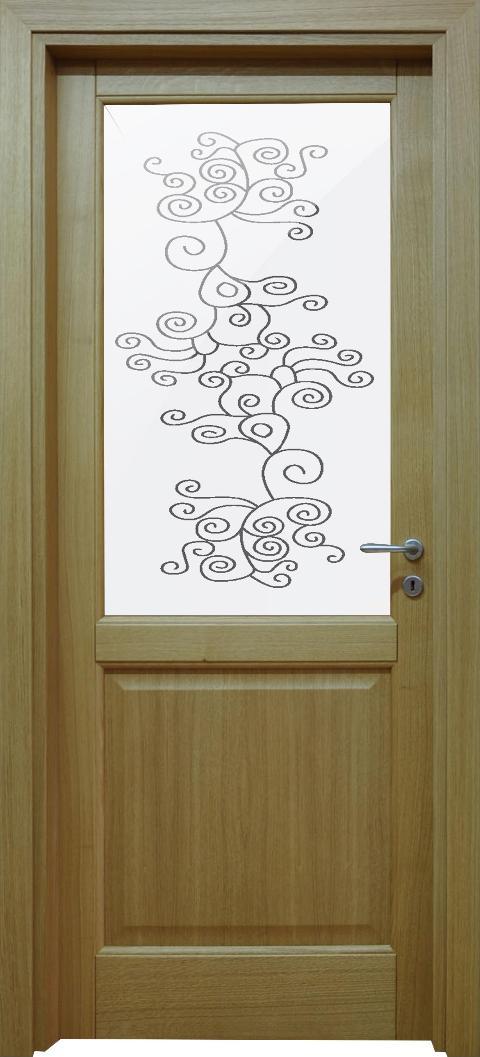 Porta in massello/ Art.111/ Infissi Vaccaro