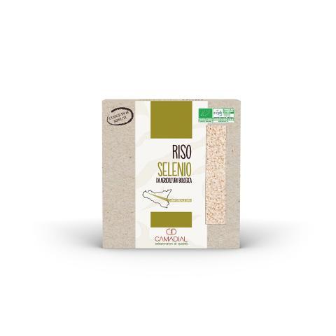 Riso Selenio biologico / Conf. da 500 gr. / Camadial Sicilia