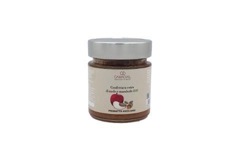 Confettura extra di mele con mandorle bio / Conf. da ml 220 / Camadial Sicilia
