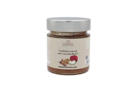 Confettura extra di mele con cannella bio / Conf. da ml 220 / Camadial Sicilia