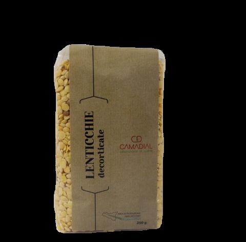 Lenticchie decorticate / Conf. da gr. 250 / Camadial Sicilia