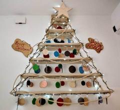 Albero di Natale in legno Artigiano Marco Albero di Natale in legno