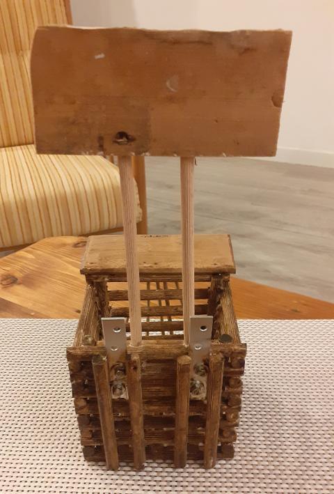 Porta gel per in legno Artigiano Marco Porta gel per in legno