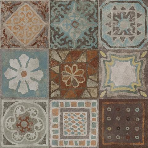 Gres Porcellanato Effetto Cementina Opaco Mix 9 Pezzi 20x20 PANARIA MEMORY MOOD