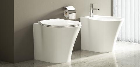CONNECT AIR VASO E BIDET IDEAL STANDARD  AQUABLADE