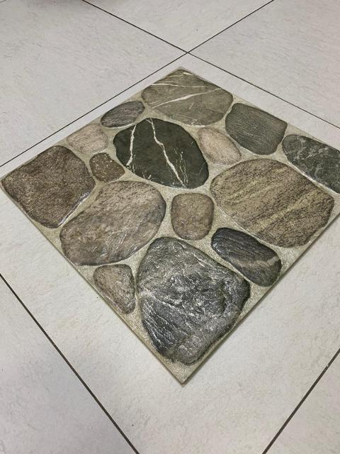 Piastrella Pavimento Gres Porcellanato Effetto Pietra 45,5x45,5 Bellone  Sandstone