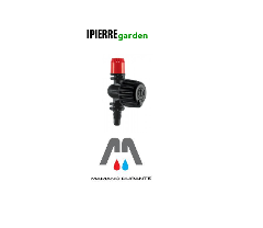 IRRIGATORE GIREVOLE 360° MICROASPERSORI IPIERRE GARDEN 5320