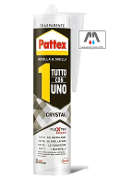 PATTEX CRYSTAL TUTTO CON 1 ML290 TRASPARENTE INCOLLA & SIGILLA ADESIVO  HENKEL CRYSTAL TUTTO CON UNO 2009417