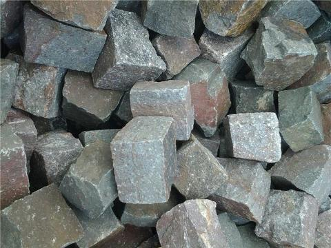 Cubetti di pietra grigio fox cisam gf