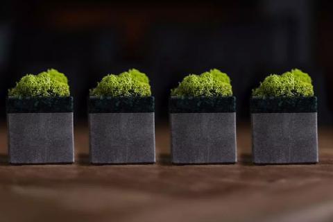 Collezione Cubo di Marmo E-Moss HOPE Cisam Design 4 Pz