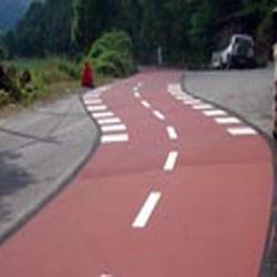 Resinatura piste ciclabili
