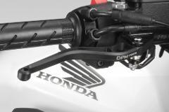 Kit Leve Honda CB650F 2017-2018 DE PRETTO MOTO Race Alluminio Ricavato Dal Pieno Anodizzato Nero