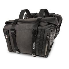 Coppia borse laterali valige  in canvas  per moto  KAPPA RA316BK