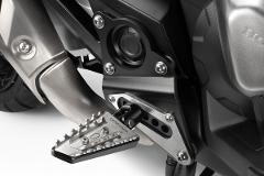 KIT Pedane poggiapiedi Honda XADV De Pretto Moto SuperRally Alluminio Acciaio Inox