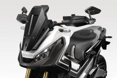 Cupolino Honda XADV 2018/20120 DE PRETTO MOTO SuperRally Alluminio Taglio Laser Verniciato a Polvere