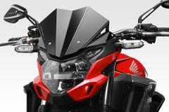 Cupolino Honda CB500F 2019/20 DE PRETTO MOTO  Warrior Alluminio Taglio Laser Verniciato a Polvere