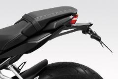 Porta Targa kit ad inclinazione variabile da 30°Honda CBR650R 2019/20 De Pretto Moto Acciaio FE360 Tagliato a Laser Verniciato a Polvere