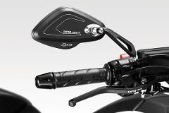 Specchietti  HONDA  NC750S 2014-19 NC750X 2014-19 De Pretto Moto POLICE Corti Allumino Anodizzato Ricavato Dal Pieno