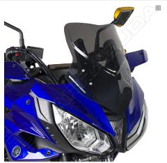 Cupolino Parabrezza Yamaha MT07 Tracer 2018 - 2019 Barracuda Plexiglass semitrasparente colore fume' scuro