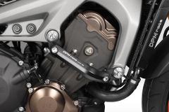 PARAMOTORE IN ALLUMINIO PER MOTO  DE PRETTO MOTO Yamaha MT09 TRACER 2017-2020