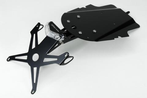 PORTA TARGA Yamaha XSR 7002015/2019 DE PRETTO MOTO Inclinazione Variabile Alluminio Acciaio Taglio laser verniciato a polvere