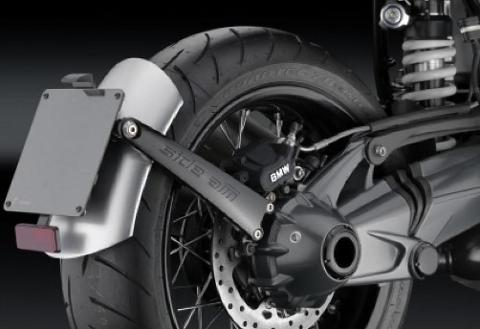 Parafango posteriore in alluminio  RIZOMA   BMW R.NINE T SIDE ARM