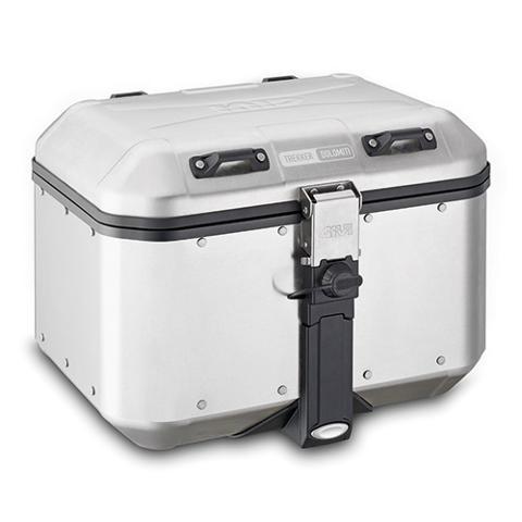 Bauletto valige  per moto in alluminio  GIVI TREKKER DOLOMITI 46 LT