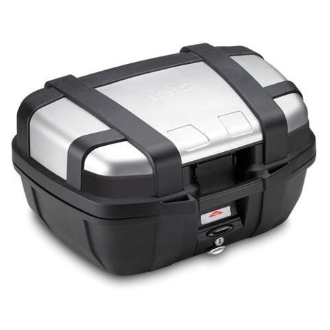 Bauletto valige  per moto in alluminio  GIVI TREKKER 52