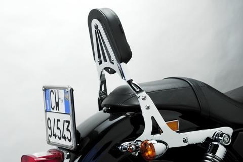 Schienalino Harley Davdson SPORTSTER 883/1200  DE PRETTO MOTO Schienalino a Sgancio Rapido