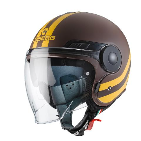 Casco  Jet  CABERG  CABERG  Uptown Brown-Yellow