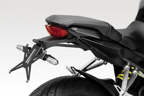 Portatarga Kit CB 650 R 2019 De Pretto Moto Alluminio inclinazione Variabile