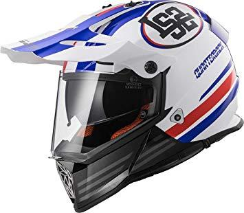 Casco Motocross enduro  per moto  LS2 CROSS PIONEER MX436 QUARTERBACK
