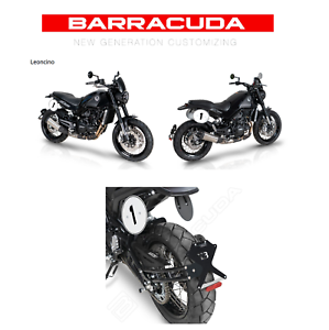 "Porta Targa Kit Benelli Leoncino 500 BARRACUDA  ""SIDE NAKED"""