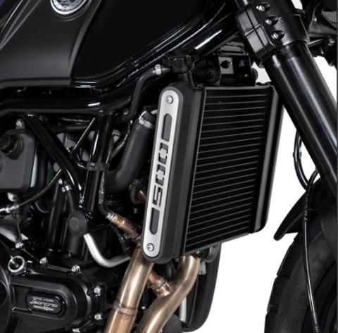 Cover Radiatore Benelli Leoncino 500 BARRACUDA Alluminio Anodizzato