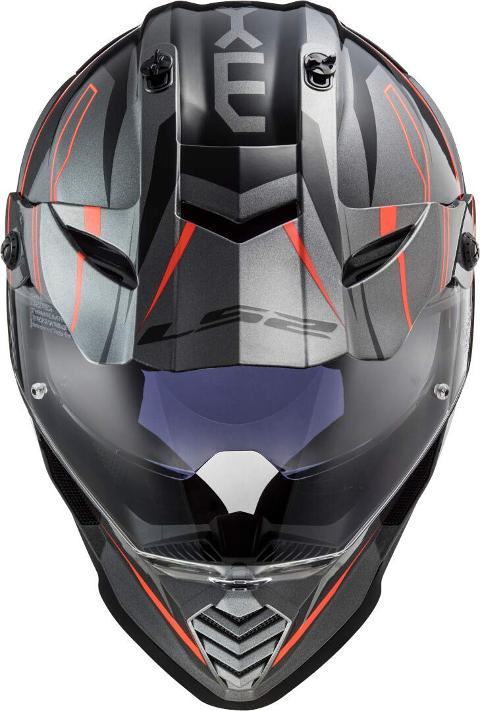 Casco Motocross  per moto  LS2 CROSS  NEW PIONEER EVO 2020