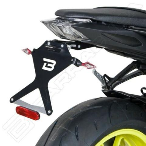 PORTATARGA  KIT TARGA REGOLABILE   BARRACUDA   barracuda Yamaha MT-09 (2017 - 2020)