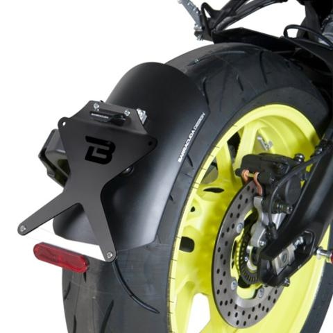 PORTATARGA KIT TARGA  SIDE BASSO BARRACUDA   barracuda Yamaha MT-09 (2017 - 2020)
