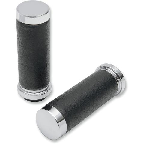 Manopole DRAG TEXTURED BLACK RUBBER GRIPS
