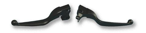 KIT LEVE CUSTOM CROME Hand Levers Chrome / Black Fits: 14-19 Sportster