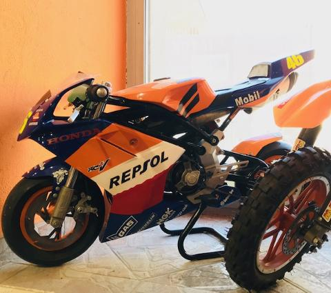 MINI MOTO BLATA RACING 14 CV PRONTO PISTA CC 40