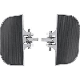 KIT Pedane moto anteriore/posteriore harley davidson  DRAG SPECIALTIES  MINI FLOORBOARDS